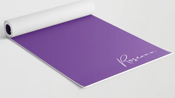 Custom Fitness/Yoga Mat