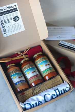Due Cellucci Tomato Sauces - Pasta Night Gift Box