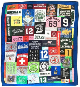 Queen Size T-Shirt Quilt