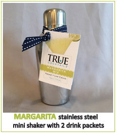 True Cocktails Margarita Stainless Steel Mini Shaker