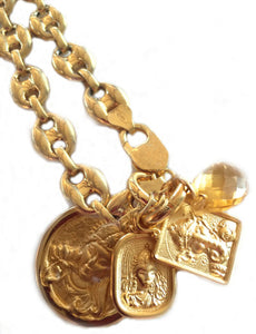 VentureMom Power Piece in 18K Gold Plated