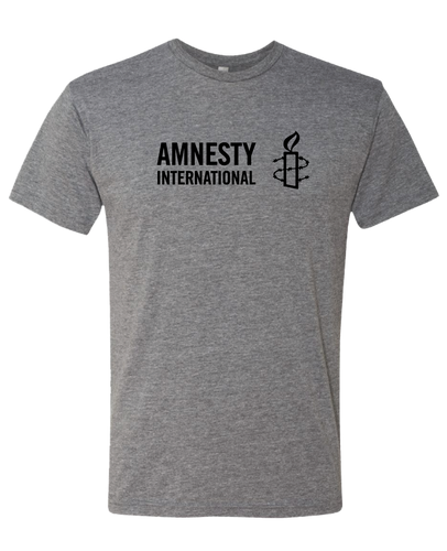 T-shirt (Grey) with Amnesty International USA Logo