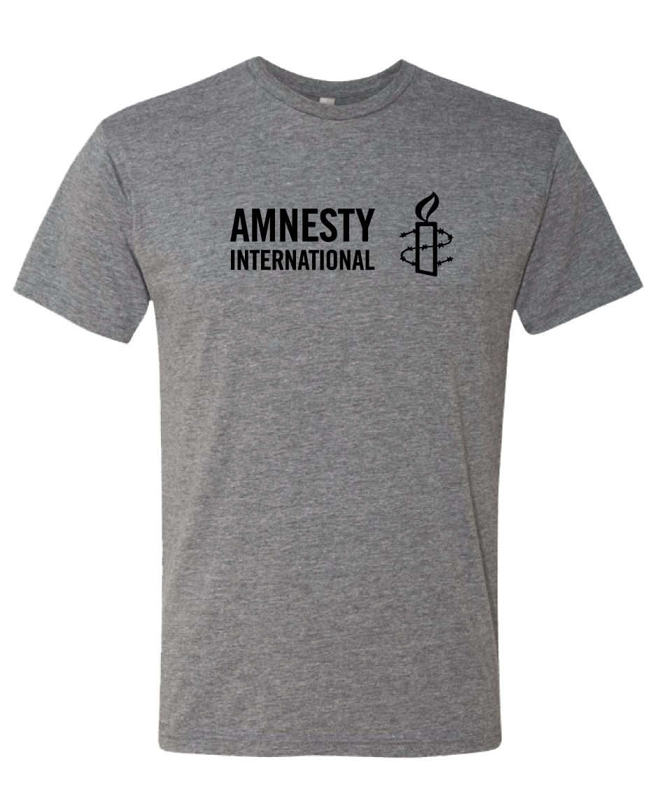 Amnesty International USA Logo T-shirt (Grey)