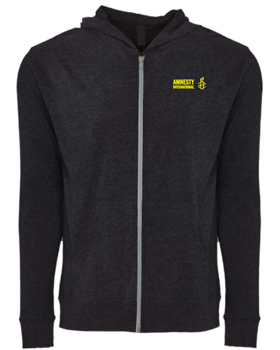 Amnesty International USA Zip Hoodie