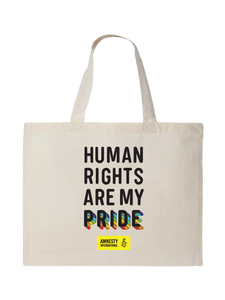 Human Rights Are My Pride Tote