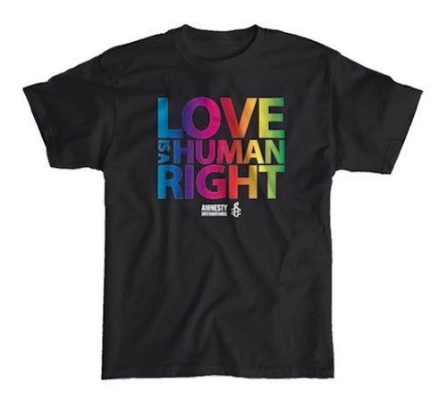 Love is a Human Right T-shirt