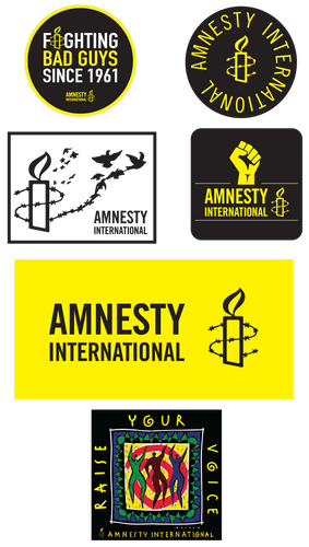 Amnesty International USA Sticker Pack