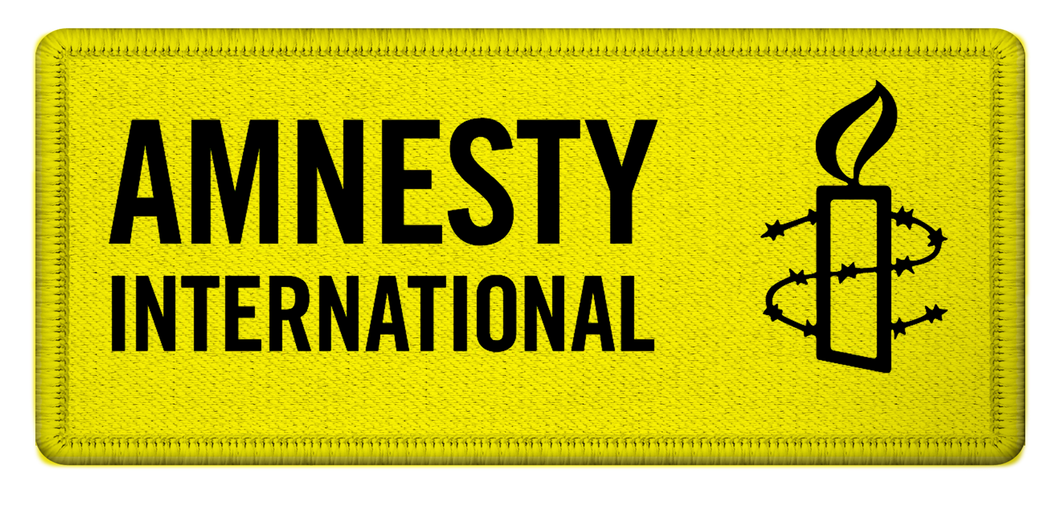 Amnesty International USA Embroidered Patch