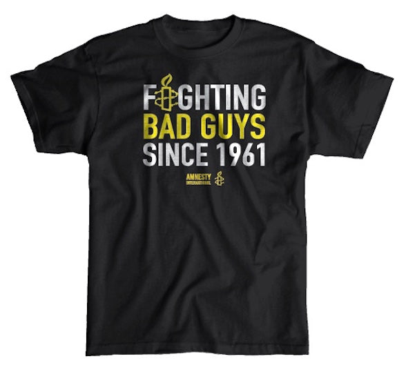 Fighting Bad Guys T-shirt