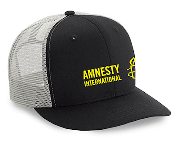 Amnesty International USA Logo Trucker Hat