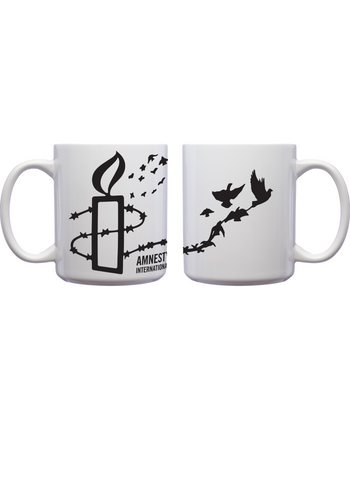 Candle to Dove Mug