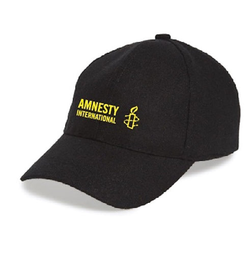 Baseball Cap with Amnesty International USA Logo