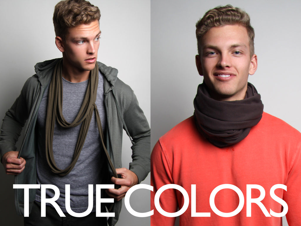 Circle Scarf Photoshoot: True Colors