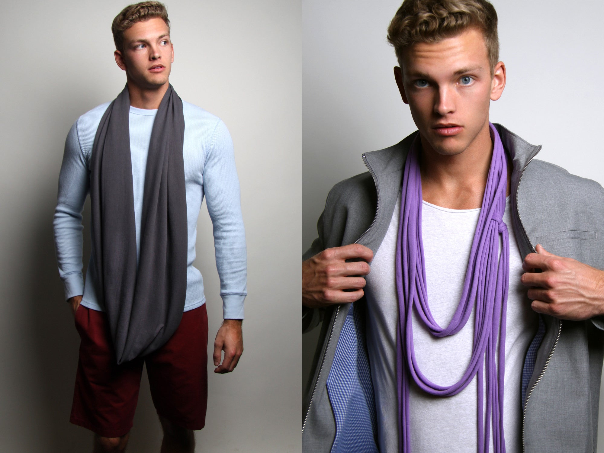Circle Scarves for Men and Women by Necklush