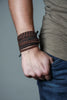 Brown Mens Bracelet