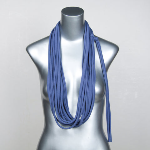 Blue Long Scarf
