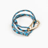Blue Paracord Nautical Bracelet