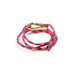 Paracord Nautical Bracelet Pink Purple