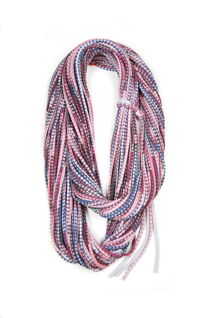 Magenta Haze Living Coral & Blueberry Chunky Scarf