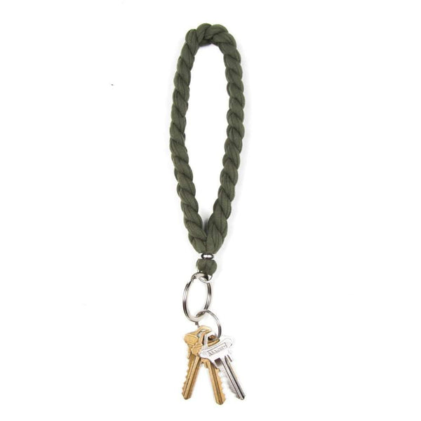 Army Green Keychain