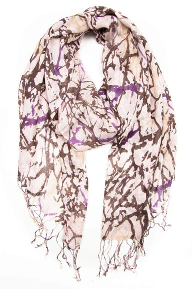 Brown Plum Scarf-scarves-Necklush