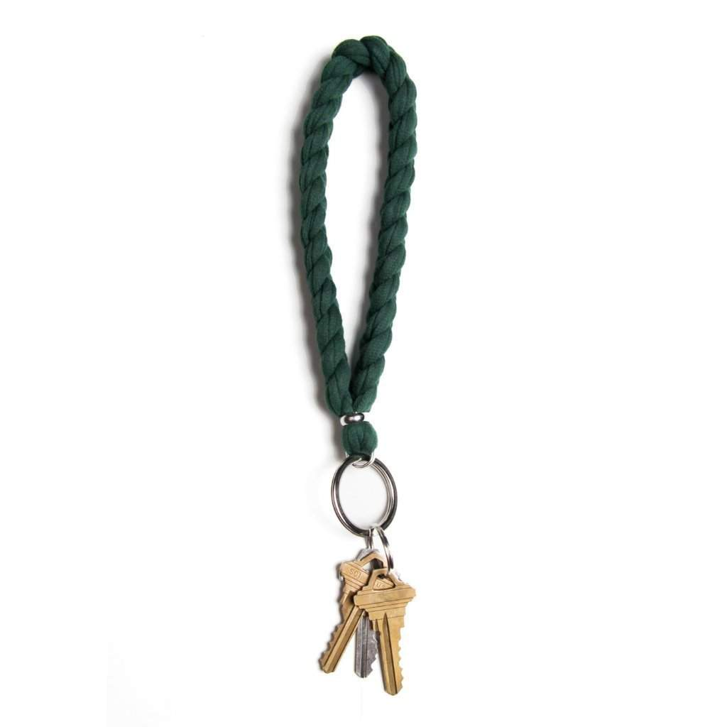 Dark Green Keychain