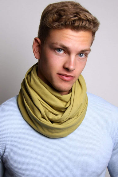 Green Circle Scarf-scarves-Necklush