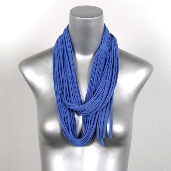 infinity scarves-Heather Blue Infinity Scarf-Necklush