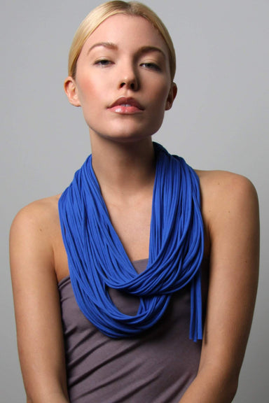 infinity scarves-Blue Infinity Scarf-Necklush