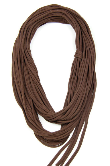 infinity scarves-Brown Infinity Scarf-Necklush
