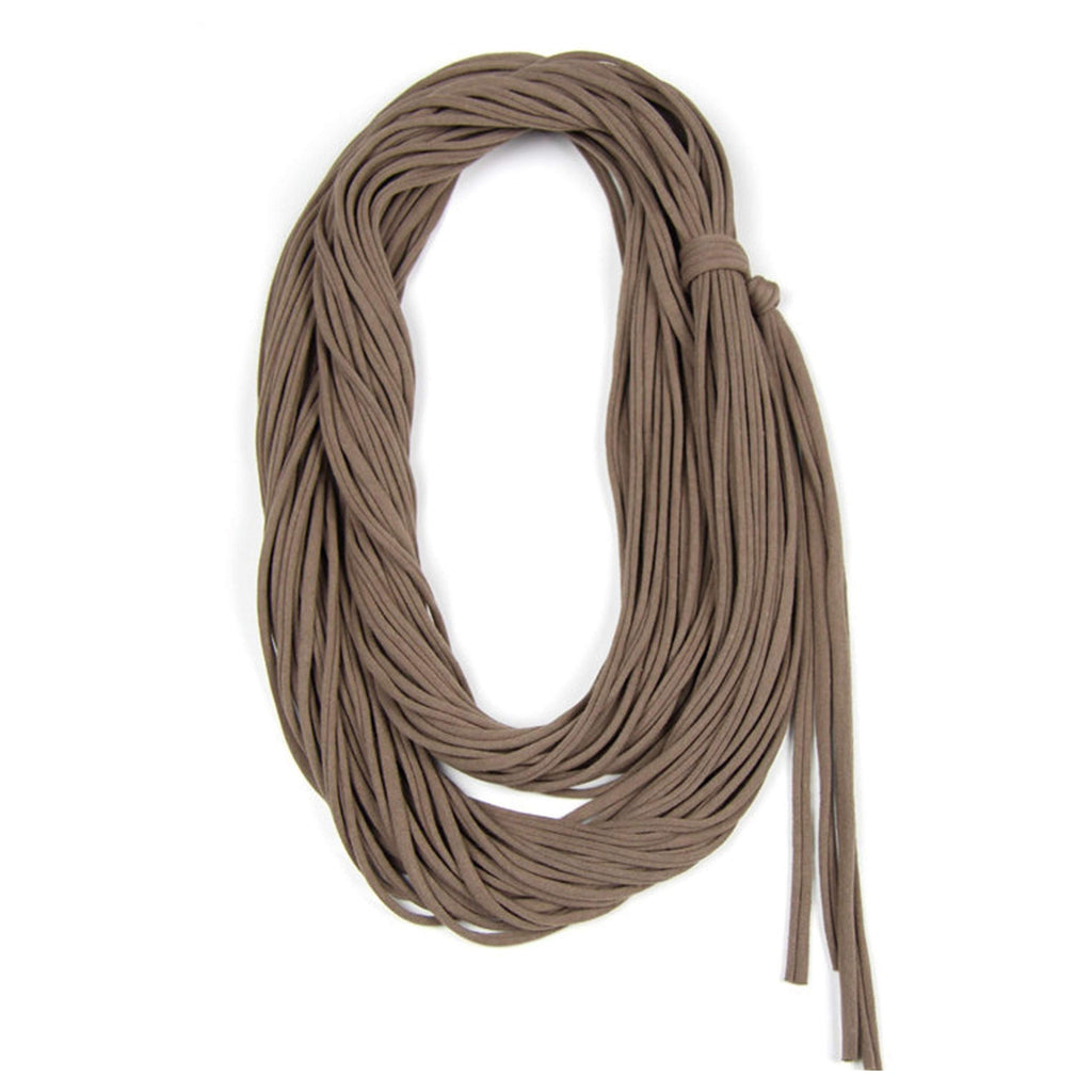 infinity scarves-Taupe Brown Infinity Scarf-Necklush