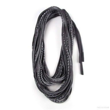 infinity scarves-Dark Gray Light Gray Infinity Scarf-Necklush