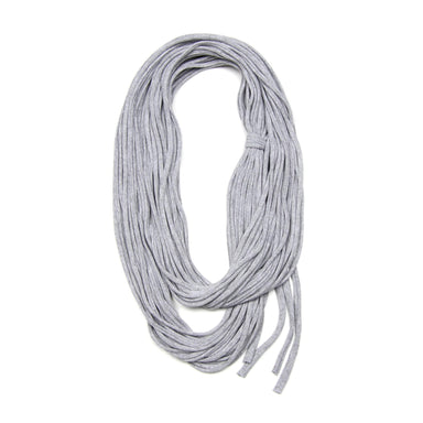 infinity scarves-Heather Gray Infinity Scarf-Necklush