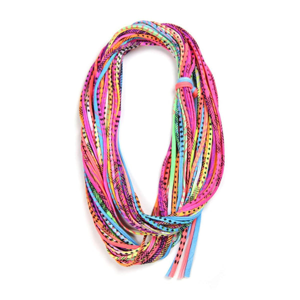 infinity scarves-Neon Infinity Scarf-Necklush