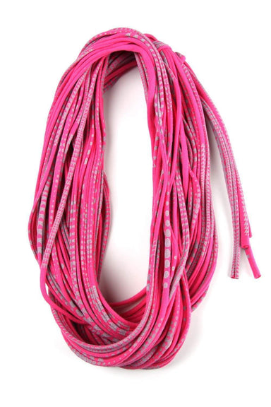 infinity scarves-Hot Pink Gray Infinity Scarf-Necklush