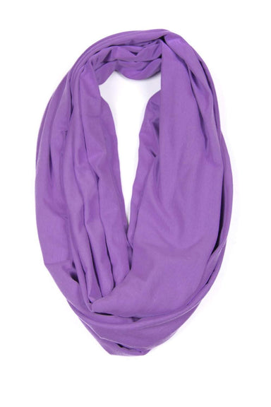 Light Purple Circle Scarf-scarves-Necklush
