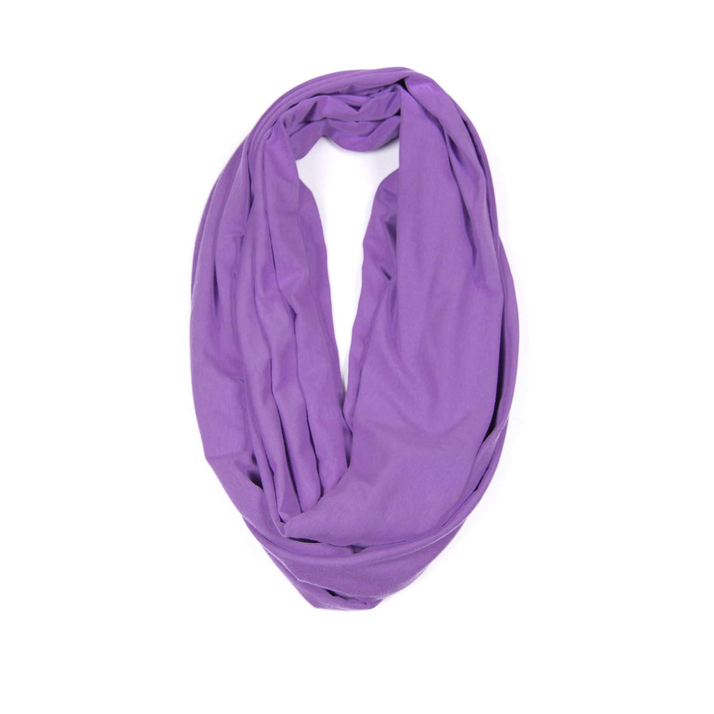 Light Purple Circle Scarf