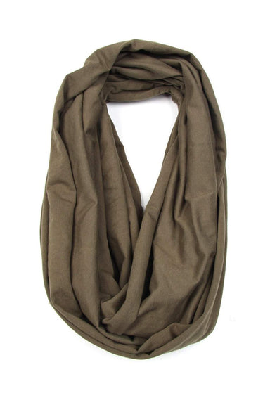 Military Green Circle Scarf-scarves-Necklush