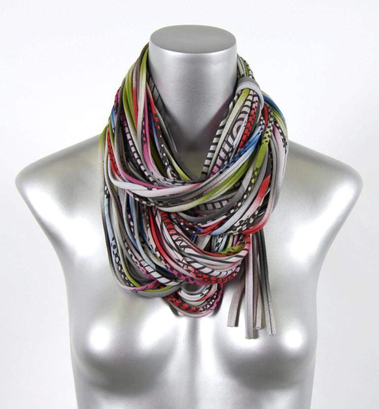 Multi/Color-scarves-Necklush