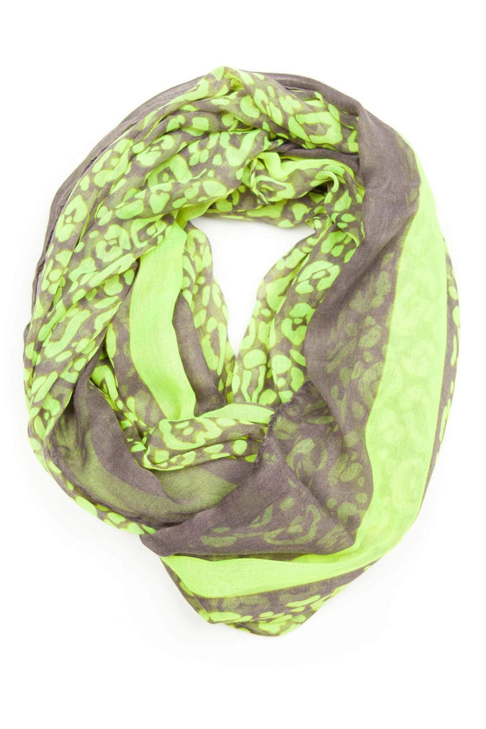 Neon Green Infinity Scarf