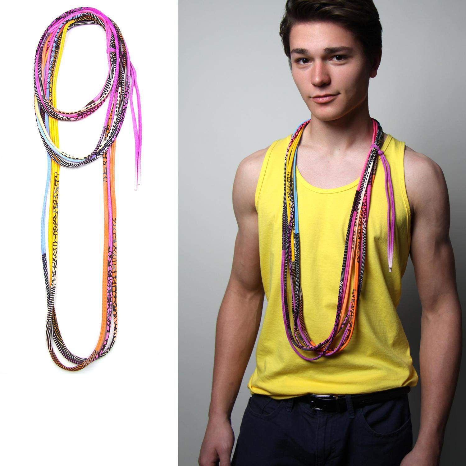 Neon Necklace-necklaces-Necklush
