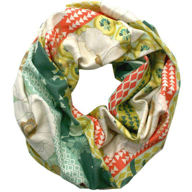 Olive Forest Green Infinity Scarf-scarves-Necklush
