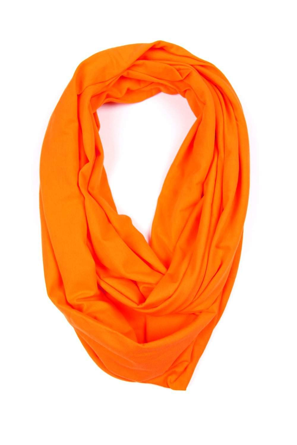 Orange Circle Scarf-scarves-Necklush