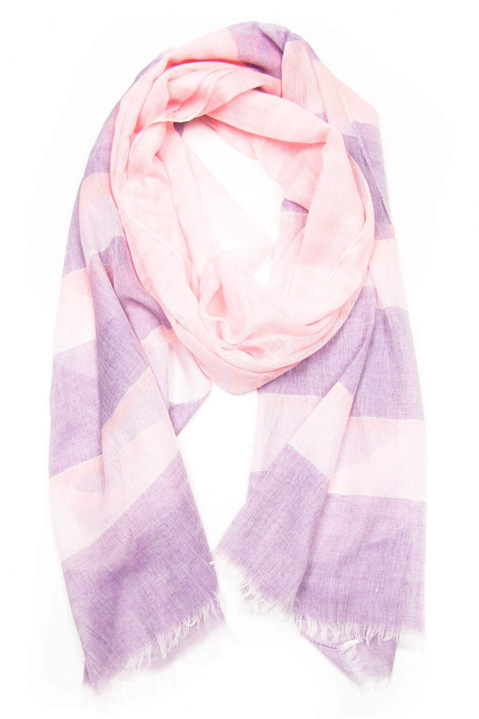 Pink Purple Scarf