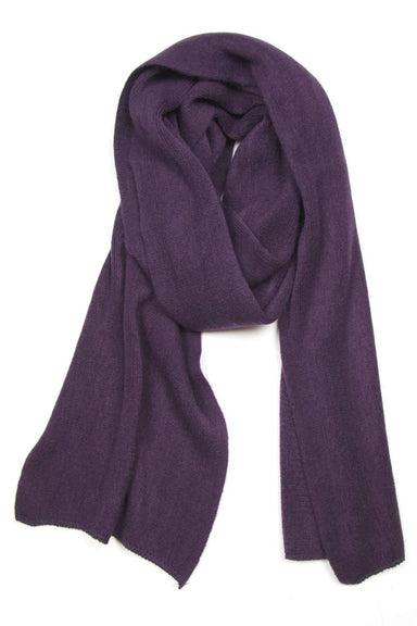 Plum Purple Scarf, Womens, Mens, Winter, Large, Acrylic