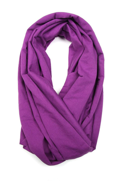 Purple Circle Scarf-scarves-Necklush