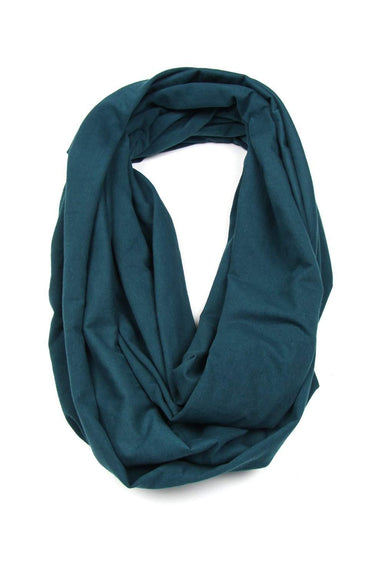 Teal Green Circle Scarf-scarves-Necklush