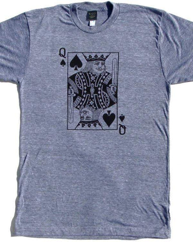 The King was a Queen T-shirt-tshirts-Necklush