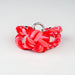 Womens Braided Bracelet - Tie Dye Red