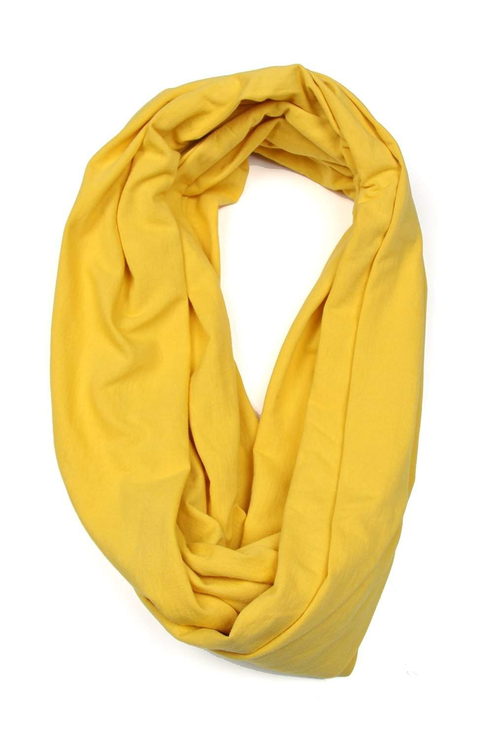 Yellow Circle Scarf-scarves-Necklush